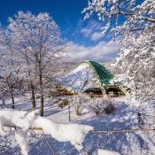 Amfiteatr zimą - arch. U.M., Wisła