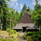 Kościółek Kubalonka - arch. U.M., Wisła