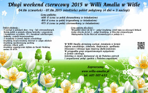 Weekend czerwcowy 2015 - Amalia