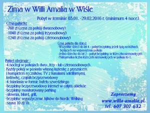 Zima - Amalia